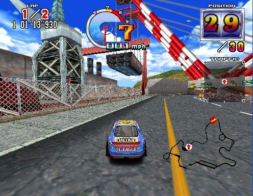 Supermodel W.I.P. - Daytona 2, Virtua Fighter 3 и Scud Race Plus